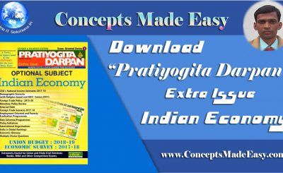 Download Pratiyogita Darpan Extra Issue - Indian Economy 2018-19