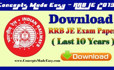 Download last 10 years Railways Junior-Engineer exam paper useful for RRB Junior-Engineer exam 2019